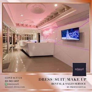 ร้านมิสซูริ บริการเช่าชุดราตรี ชุดสูท เเละชุดไทย