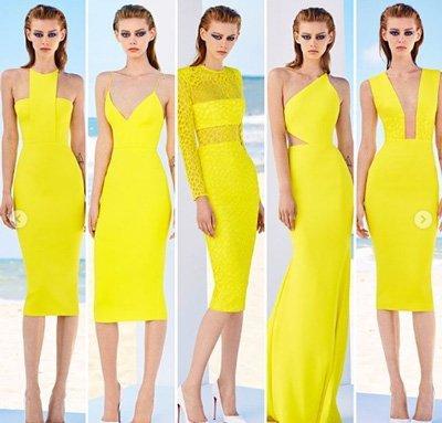 ชุดราครีสั้นสีเหลืองนี่เหมาะกับสาวที่มีผิวขาวมาก ๆ