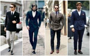 ผู้ชายมาดเข้มๆกับชุดสูทสีเข้มดูเข้ากันจนทุกคนต้องมอง