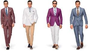 การจับเสื้อสูทกับกางเกงมาMix&Matchก็สามารถดึงดูดสายตาได้