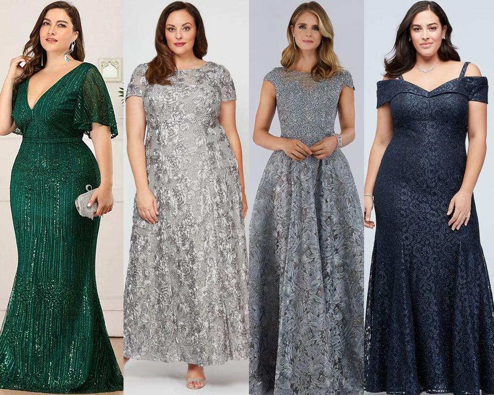 เลือกชุดราตรีให้เหมาะสมกับสาวพลัสไซส์ ควรเน้นสีเข้ม