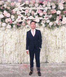 สูทไปงานแต่งงาน สีน้ำเงิน เรียบเท่ห์ ดูดี มีสไตล์
